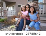 portrait of mother and... | Shutterstock . vector #29785642