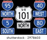 american interstate and highway ... | Shutterstock .eps vector #2978603