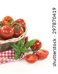 tomatoes   Shutterstock . vector #297870419