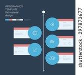 timeline circle infographics...