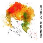 summer girl | Shutterstock . vector #29788738