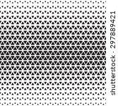 halftone monochrome geometric...   Shutterstock .eps vector #297889421