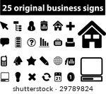 25 original business   vector... | Shutterstock .eps vector #29789824