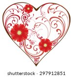 vector illustration of a... | Shutterstock .eps vector #297912851
