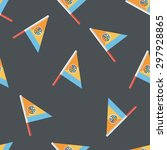 flag flat icon seamless pattern ...