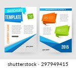 corporate business stationery... | Shutterstock .eps vector #297949415