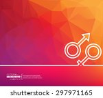 abstract vector background. for ...   Shutterstock .eps vector #297971165