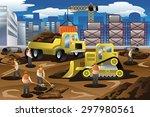 a vector illustration of... | Shutterstock .eps vector #297980561