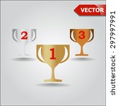vector gold  silver and bronze...
