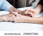 Care Is At Home Of Elderly....