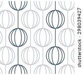 Seamless Pattern Of Ball Chain...