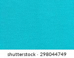 blue cloth texture close up to... | Shutterstock . vector #298044749