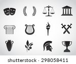 ancient  greek civilization.... | Shutterstock .eps vector #298058411