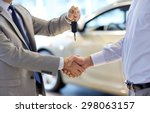auto business  car sale  deal ... | Shutterstock . vector #298063157