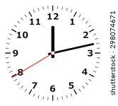 clock | Shutterstock .eps vector #298074671