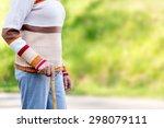 senior woman using a walker | Shutterstock . vector #298079111