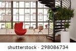 corner for enjoyment   living...   Shutterstock . vector #298086734