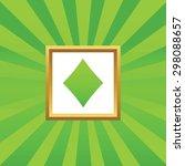 image of diamonds card symbol...