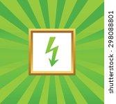 image of voltage lightning in...