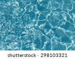 pool water background with sun... | Shutterstock . vector #298103321