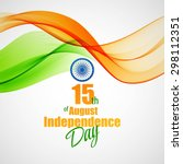 creative indian independence... | Shutterstock .eps vector #298112351