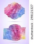 vintage artistic frames.... | Shutterstock .eps vector #298121327