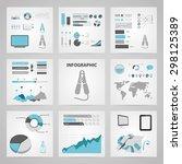 vector illustration of modern... | Shutterstock .eps vector #298125389