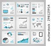 vector illustration of modern... | Shutterstock .eps vector #298125914