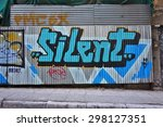 athens  greece  14 july 2015 ... | Shutterstock . vector #298127351