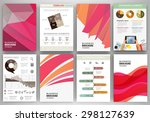 abstract vector backgrounds and ... | Shutterstock .eps vector #298127639