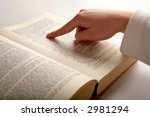 book and a hand | Shutterstock . vector #2981294