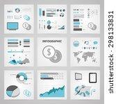 vector illustration of business ... | Shutterstock .eps vector #298133831