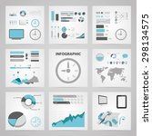 vector illustration of business ... | Shutterstock .eps vector #298134575