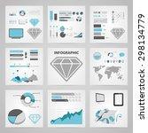 vector illustration of business ... | Shutterstock .eps vector #298134779