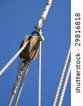 ropes and other stuff of an old ... | Shutterstock . vector #29816818