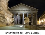 pantheon   one of the great... | Shutterstock . vector #29816881