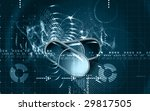 illustration of two capsule and ... | Shutterstock . vector #29817505