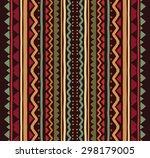 vector seamless tribal pattern...