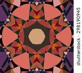 vector seamless pattern... | Shutterstock .eps vector #298190945