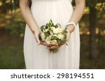 wedding flowers roses bouquet... | Shutterstock . vector #298194551