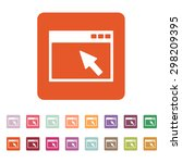 the browser icon. website and...