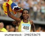 barcelona   july  8  ethiopian...   Shutterstock . vector #298253675