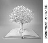 tree of knowledge | Shutterstock . vector #298264481