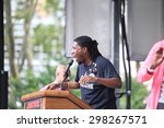 Small photo of NEW YORK CITY - JULY 19 2015: National Action Network & SEIU members staged a rally to mark the anniversary of Eric Garner's death in Cadman Plaza, Brooklyn. NYCC member Jumaane Williams