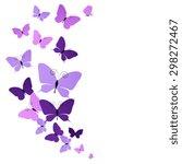 Stock photo butterflies design 298272467