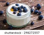 Serving Of Yogurt With Whole...