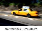 new york taxi | Shutterstock . vector #29828869