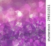 abstract triangle violet... | Shutterstock .eps vector #298311011