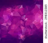 abstract triangle violet... | Shutterstock .eps vector #298312385