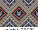 geometric ethnic pattern design ... | Shutterstock .eps vector #298337285